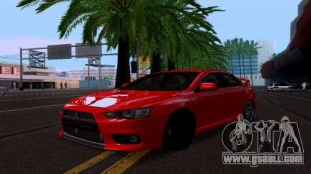 Mitsubishi Lancer Evo Drift Edition for GTA San Andreas