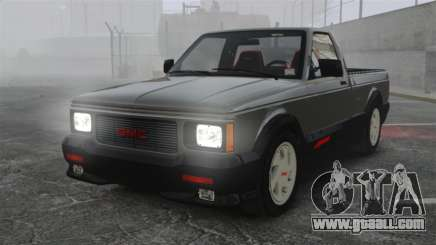 GMC Syclone 1992 for GTA 4