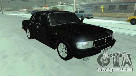GAZ 31029 Volga Black for GTA San Andreas
