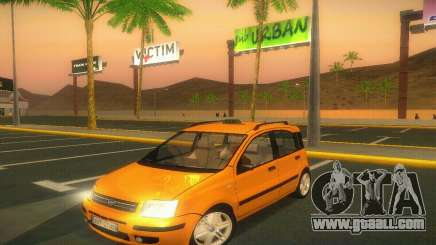 Fiat Panda Taxi for GTA San Andreas