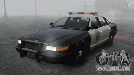A Police Cruiser GTA V for GTA 4
