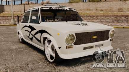 Fiat 124 Tuning for GTA 4