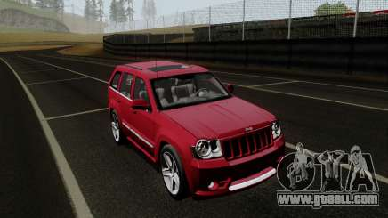 Jeep Grand Cherokee SRT10 for GTA San Andreas