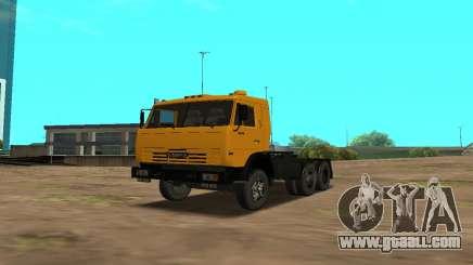 KamAZ 54115 (Petrol) for GTA San Andreas
