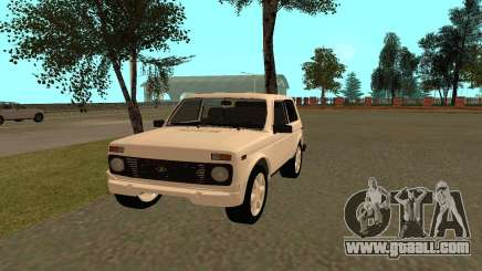 The Niva VAZ 21213 for GTA San Andreas