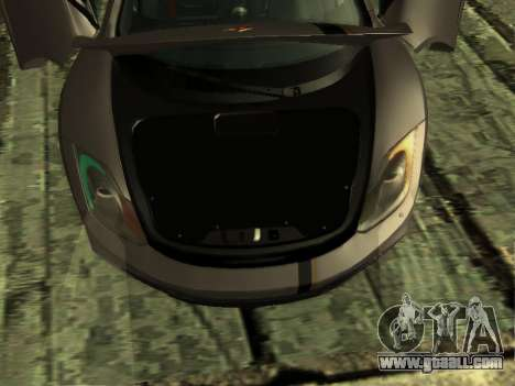 McLaren MP4-12C WheelsAndMore for GTA San Andreas bottom view