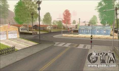 Empty streets (Screenshots) for GTA San Andreas third screenshot