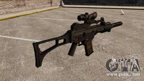 Automatic HK G36C v4 for GTA 4 second screenshot