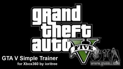 GTA 5 GTA 5 simple trainer by ioritree