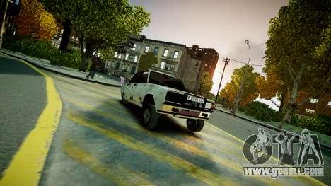 VAZ 2107 for GTA 4 left view