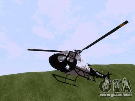 Police Maverick GTA 5 for GTA San Andreas right view
