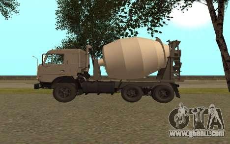KAMAZ Lorries 53115 for GTA San Andreas left view