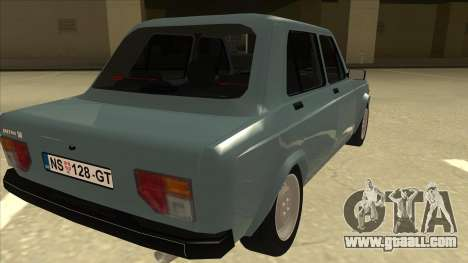 Zastava 128 Stock for GTA San Andreas right view