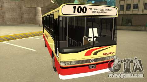 Mercedes-Benz OHL-1320 Linea 100 for GTA San Andreas left view