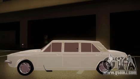 Paykan Limousine for GTA San Andreas back left view