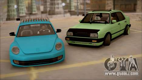 VW Jetta MK2 for GTA San Andreas right view