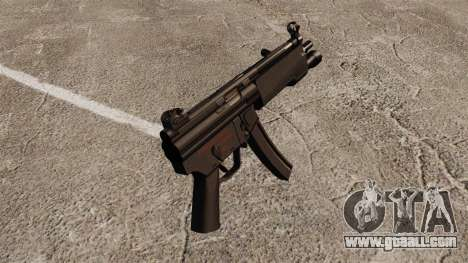 HK MP5 submachine gun for GTA 4 second screenshot