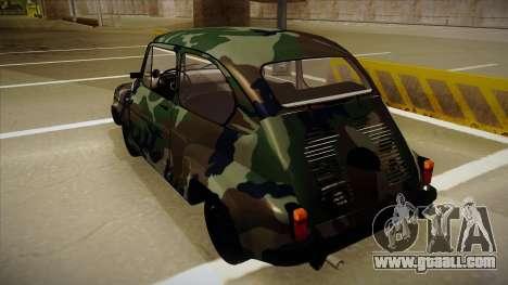 Zastava 750 Camo for GTA San Andreas right view
