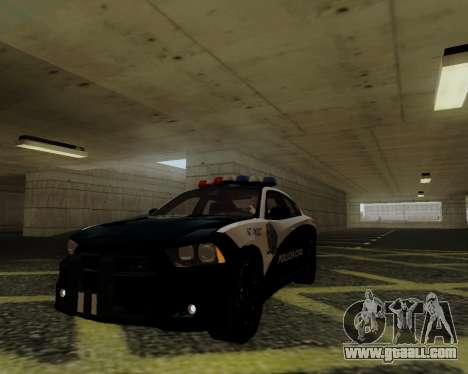 Dodge Charger 2012 Police IVF for GTA San Andreas