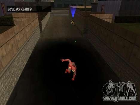 Impact of iron man on Earth for GTA San Andreas third screenshot
