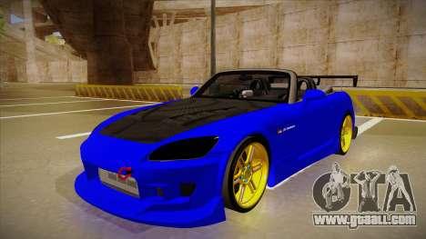 Honda S2000 C-West for GTA San Andreas