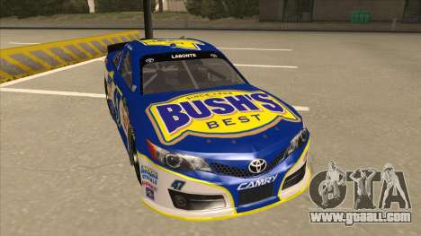 Toyota Camry NASCAR No. 47 Bushs Beans for GTA San Andreas left view