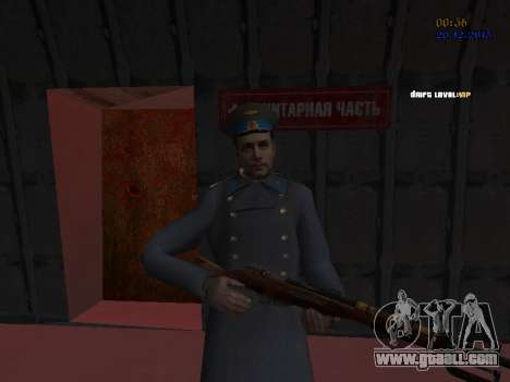 Colonel General of the Soviet air force for GTA San Andreas ninth screenshot