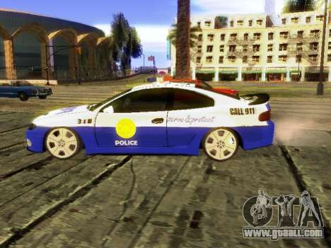 Pontiac GTO Pursit Edition for GTA San Andreas left view