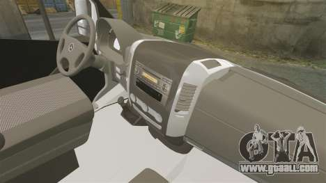 Mercedes-Benz Sprinter Croatian Police v2 [ELS] for GTA 4 back view