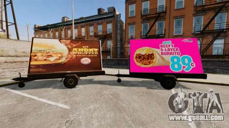 The new advertising on wheels for GTA 4