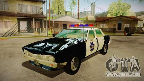Fasthammer Police SF for GTA San Andreas