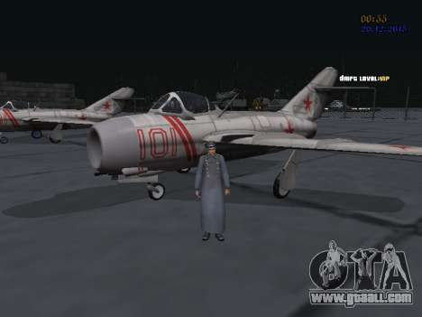Colonel General of the Soviet air force for GTA San Andreas sixth screenshot