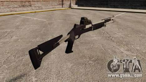M1014 shotgun v3 for GTA 4 second screenshot