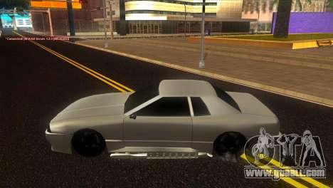 Elegy Estoq for GTA San Andreas left view