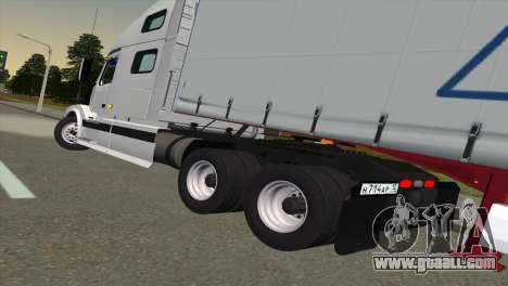 Volvo VNL 670 for GTA San Andreas back left view