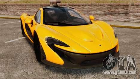McLaren P1 2013 for GTA 4