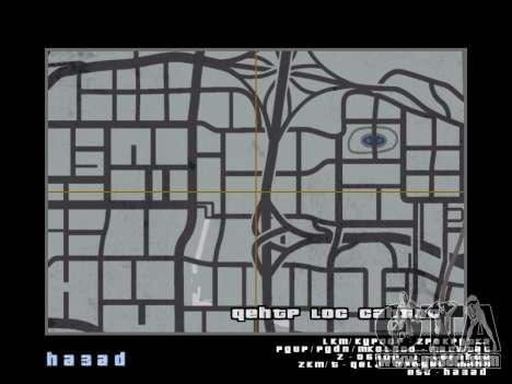 Map in the style of GTA 5 for GTA San Andreas third screenshot