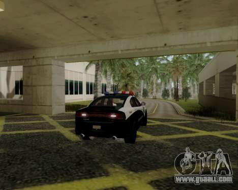 Dodge Charger 2012 Police IVF for GTA San Andreas right view