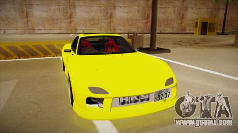 Mazda FD3S BN Sports for GTA San Andreas left view