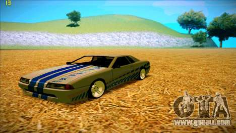 Paintjobs EQG Version for Elegy for GTA San Andreas