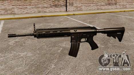 Automatic HK416 for GTA 4 third screenshot