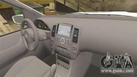 Nissan Pathfinder HGSS [ELS] for GTA 4 back view