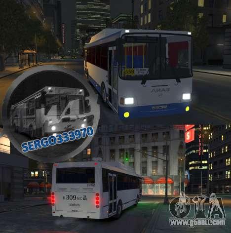 LIAZ 5256.57-01 2013 for GTA 4 side view