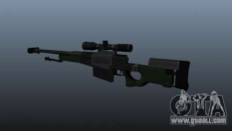 AW50F sniper rifle for GTA 4 second screenshot