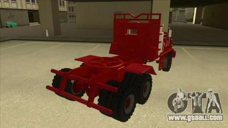 Hayes Truck H188 for GTA San Andreas back left view
