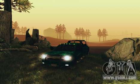 Chevrolet Silverado 3500 Military for GTA San Andreas back view