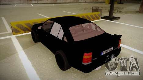 Lotus Carlton for GTA San Andreas back view