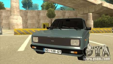 Zastava 128 Stock for GTA San Andreas