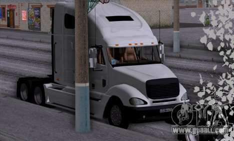 Freightliner Columbia for GTA San Andreas side view