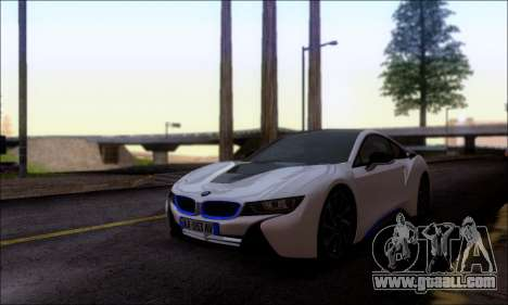 BMW I8 for GTA San Andreas right view